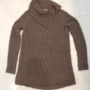 Anthropologie Moth brand sweater in camel